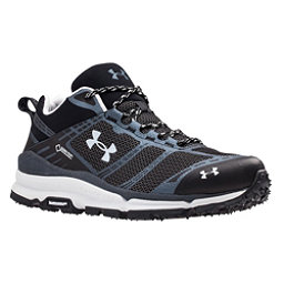Under Armour Verge Low GTX Mens Shoes, Black-Stealth Gray-Elemental, 256