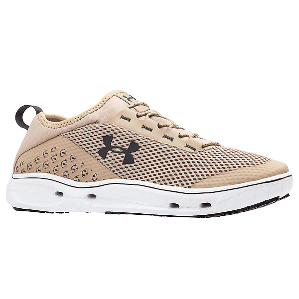 Under Armour Kilchis Mens Watershoes, Desert Sand-White-Charcoal, 600