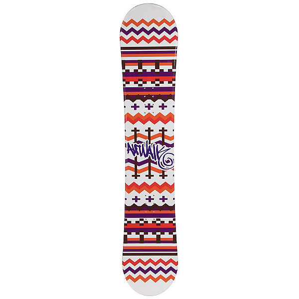 Airwalk Blanket White Womens Snowboard, , 600