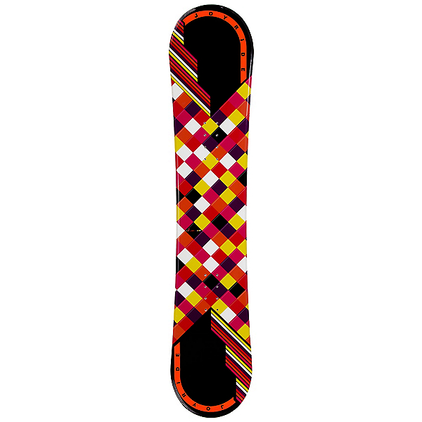 Joyride Checkers Black Womens Snowboard, , 600