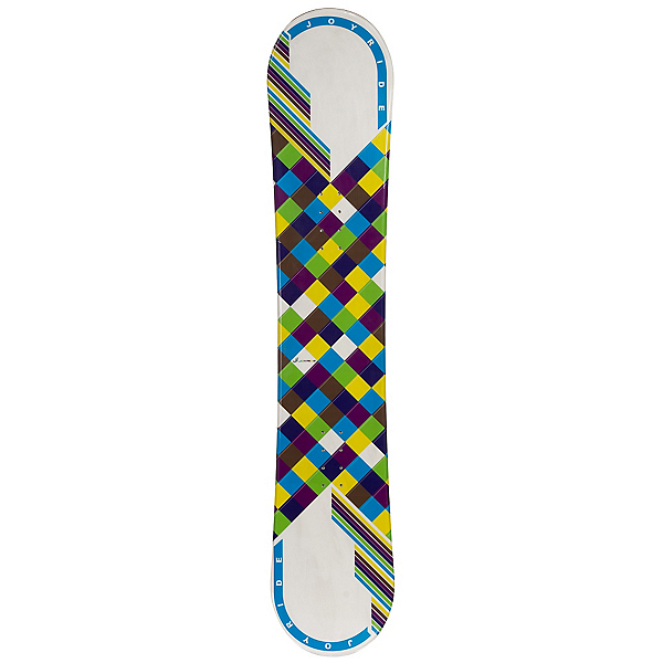 JoyRide Checkers White Blue Womens Snowboard, , 600