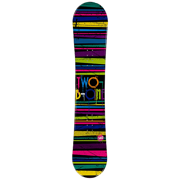 2B1 Paint Black Rocker Womens Snowboard, , 600