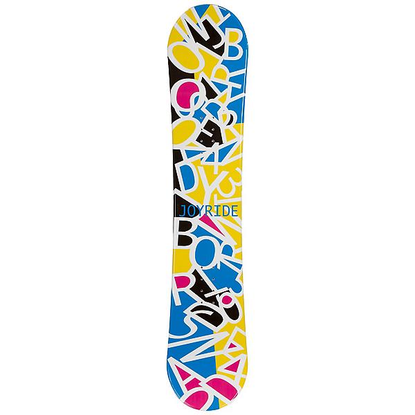 JoyRide Letters White Girls Snowboard, , 600