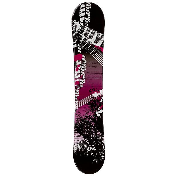 JoyRide Bush Pink Rocker Womens Snowboard, , 600