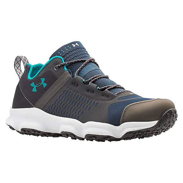 Under Armour Speedfit Hike Low Womens Shoes, Mechanic Blue-Charcoal-Emerald, 600