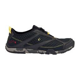 OluKai 'Eleu Trainer Mens Watershoes, Black-Black, 256