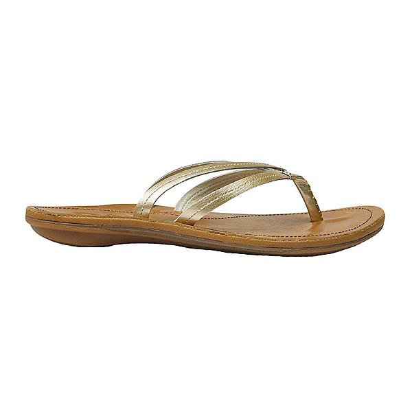 OluKai U'i Womens Flip Flops, Bubbly-Sahara, 600