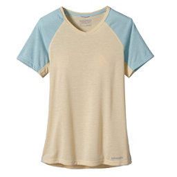 Patagonia Nine Trails Womens T-Shirt, Light Sesame, 256