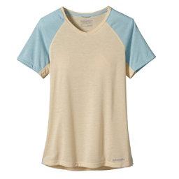 Patagonia Nine Trails Womens T-Shirt, Light Sesame, 256