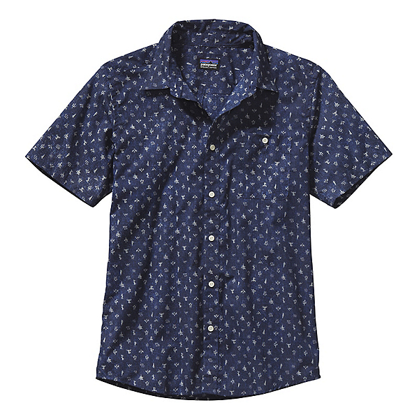 Patagonia Go To Mens Shirt, Scorpo Pequeno Channel Blue, 600