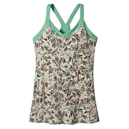 Patagonia Hotline Womens Tank-Top, Quiver & Qull Bleached Stone, 256