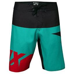 Fox Shiv Mens Board Shorts, Teal, 256