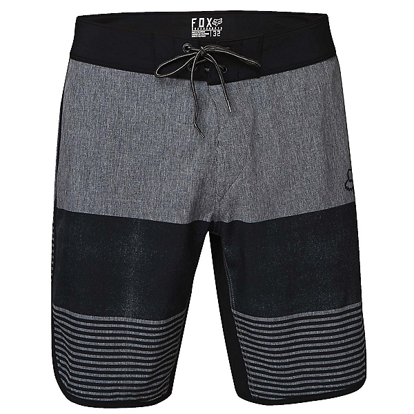 Fox Cruise Control Mens Board Shorts, Charcoal Heather, 600