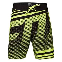 Fox Static Mens Board Shorts, Flo Yellow, 256