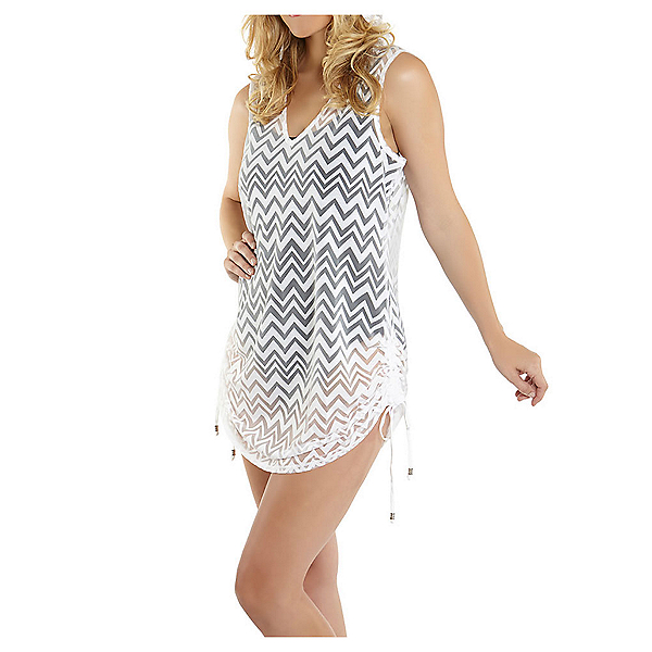 Dotti Chic Chevron Tunic Bathing Suit Cover Up, , 600