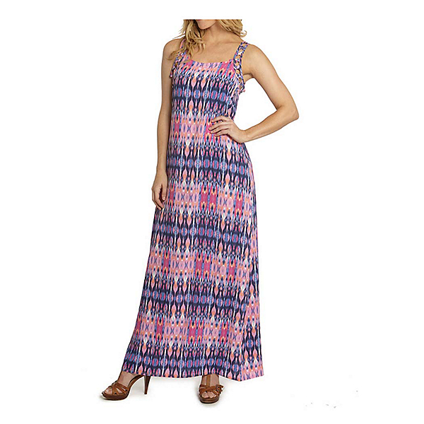 Dotti Batik Summer Maxi Dress Bathing Suit Cover Up, Pinky Lilac-Multi, 600