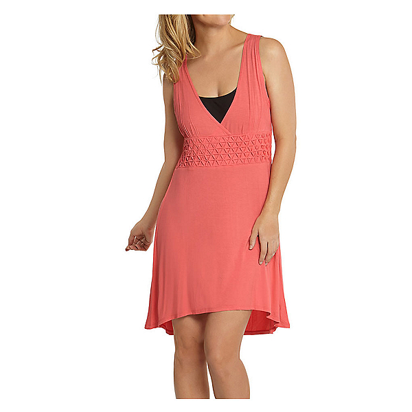 Dotti Ocean Avenue Dress Bathing Suit Cover Up, Bright Coral, 600