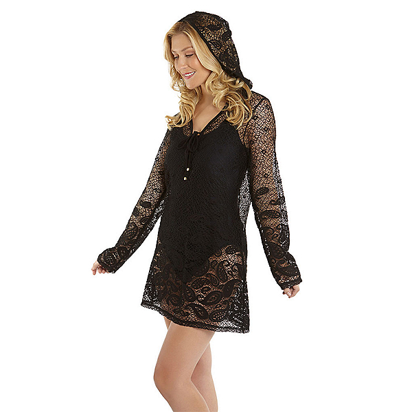 Dotti Riviera Paisley Tunic Hoodie Bathing Suit Cover Up, , 600