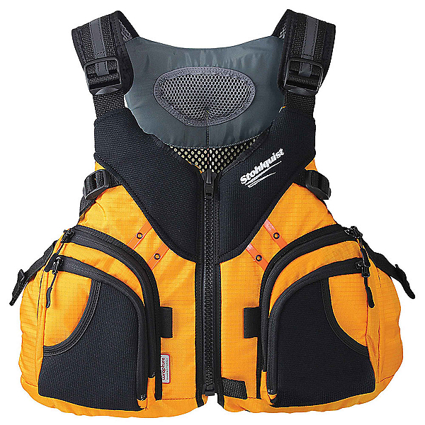 Stohlquist Keeper Fishing Kayak Life Jacket 2019, Mango, 600