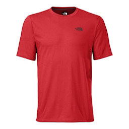 The North Face Men's S/S Crag Crew Mens Shirt (Previous Season), Pompeian Red, 256