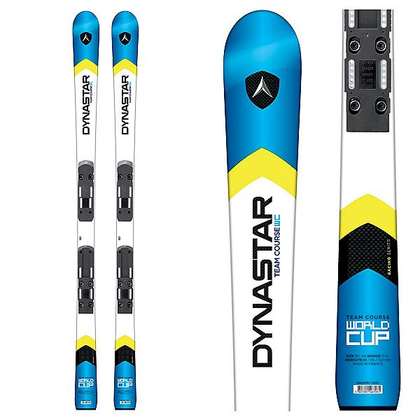Dynastar Team Course WC R20 Pro Junior Race Skis with Look Nova Team 7 Bindings, , 600