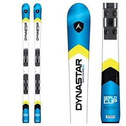 Dynastar Team Course WC R20 Pro Junior Race Skis with Look SPX 10 Bindings, White-Blue, 256