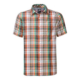 The North Face Men's S/S Solar Plaid Mens Shirt (Previous Season), Mid Grey-Asphalt Grey Plaid, 256