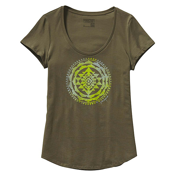 Patagonia Sun Rose Scoop Womens T-Shirt, , 600