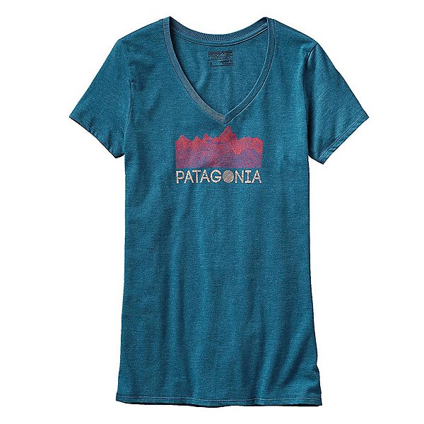 Patagonia Linear Fractures Womens T-Shirt, , 600
