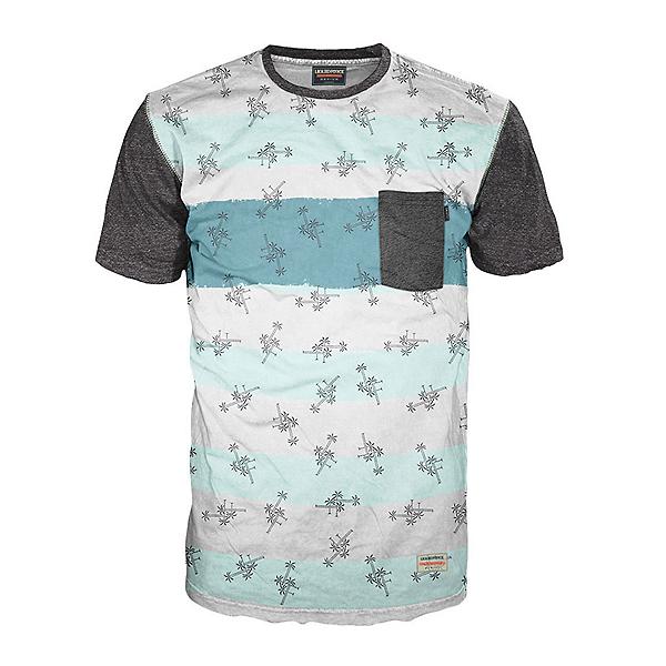 Liquid Force LF Palm Stripe Mens T-Shirt, , 600