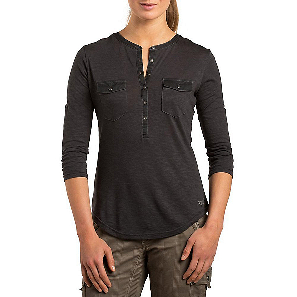KUHL Khloe Womens Shirt, Black, 600