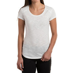 KUHL Khloe Short Sleeve Womens Shirt, White, 256