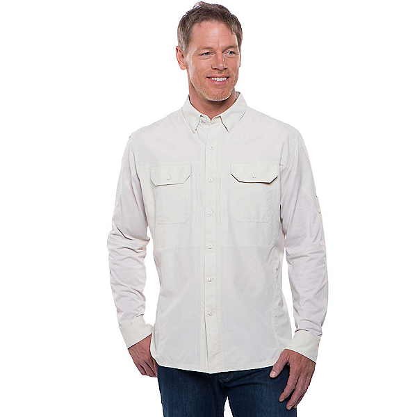KUHL Airspeed Long Sleeve Mens Shirt, Khaki, 600