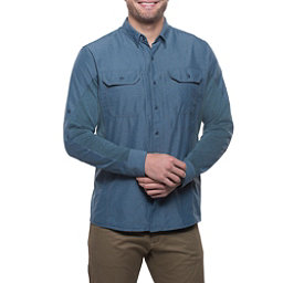 KUHL Airspeed Long Sleeve Mens Shirt, Pirate Blue, 256