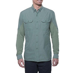 KUHL Airspeed Long Sleeve Mens Shirt, Agave Green, 256