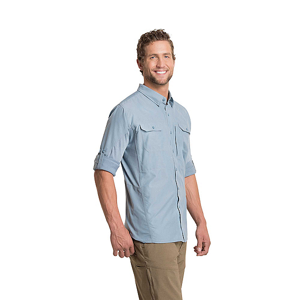 KUHL Airspeed Long Sleeve Mens Shirt, Bluestone, 600