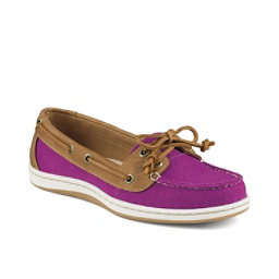 Sperry Firefish Nubby Canvas Womens Shoes, Bright Pink, 256