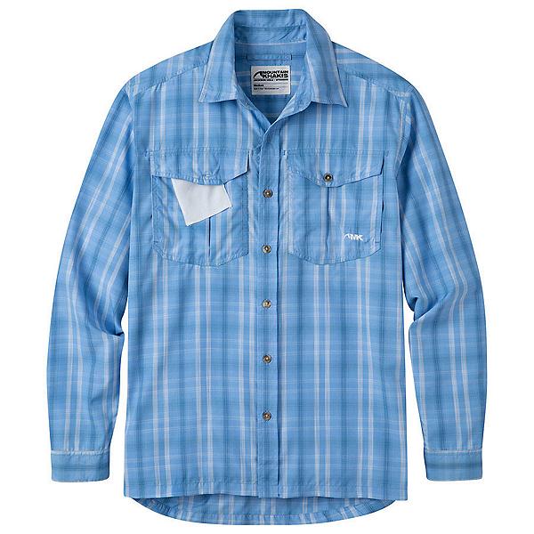 Mountain Khakis Equatorial L/S Mens Shirt, Blue Note, 600