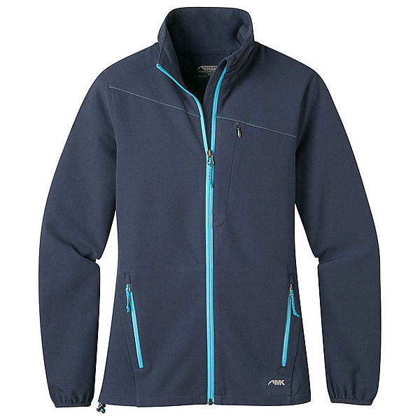 Mountain Khakis Foxtrot LT Softshell Womens Jacket, Midnight Blue, 600