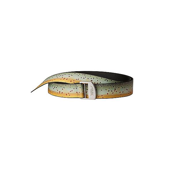 Mountain Khakis Trout Webbing Belt, Brown Trout, 600