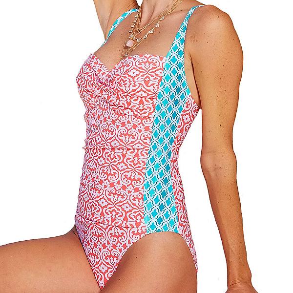 Cabana Life Coral Seas One Piece Swimsuit, , 600