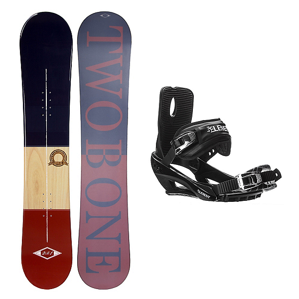 2B1 Classical Stealth 3 Snowboard and Binding Package, , 600