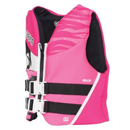 O'Brien Youth Junior Life Vest 2018, Black-Pink, 256