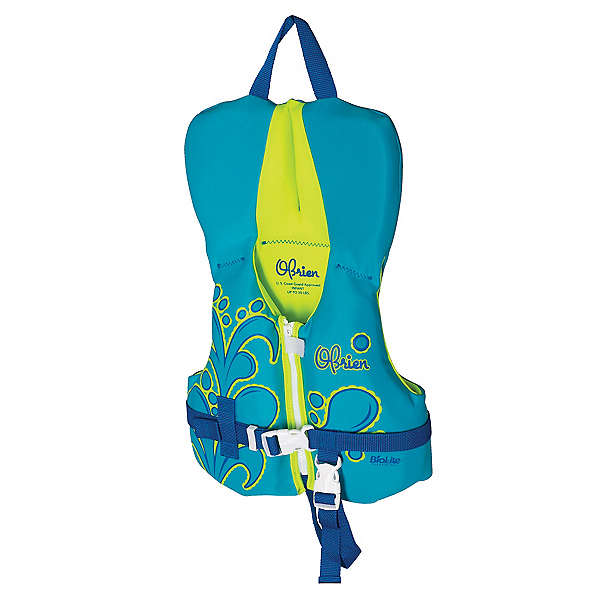 O'Brien Aqua Infant Infant Life Vest 2019, Aqua-Green, 600