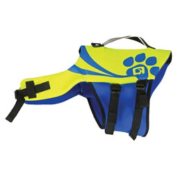O'Brien Pet Vest 2018, Yellow-Blue, 256