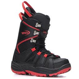 Black Dragon Basic Snowboard Boots, Black-Red, 256