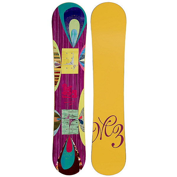 Millenium 3 Escape Womens Snowboard, , 600