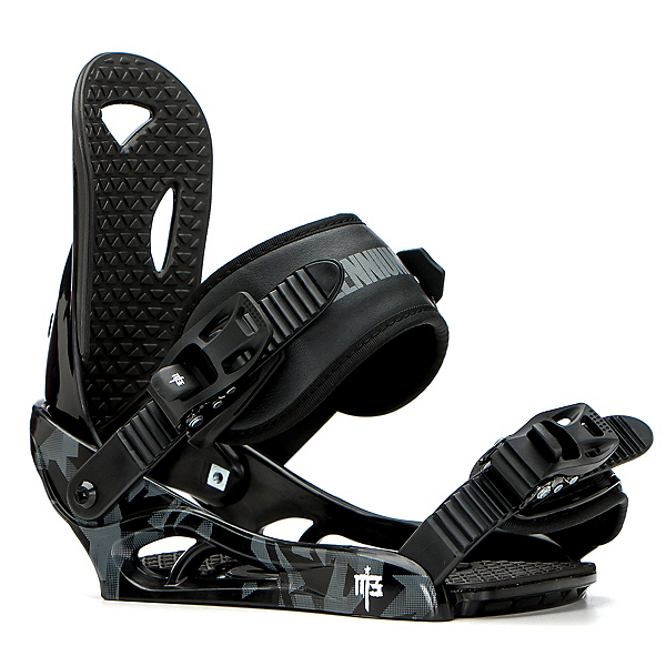 Millenium 3 Boys Helix Kids Snowboard Bindings, , 600