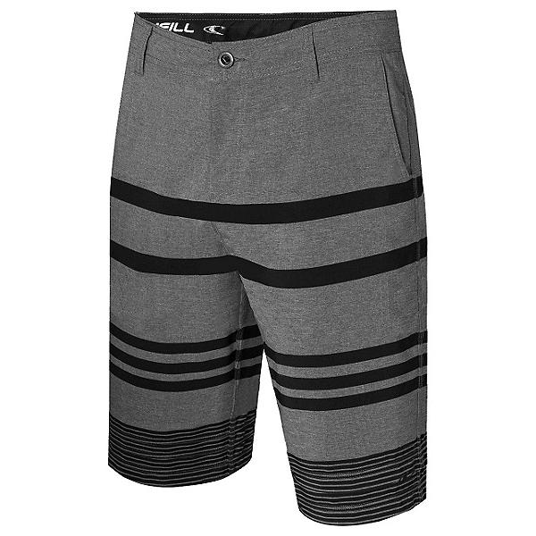 O'Neill Streaker Hybrid Mens Board Shorts, Charcoal, 600
