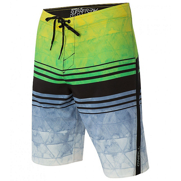 O'Neill Superfreak Diffusion Mens Board Shorts, , 600